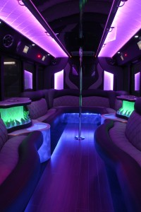 Homecoming and Prom Party Bus