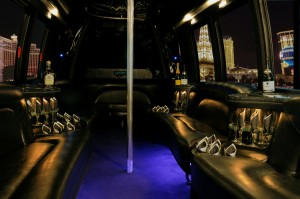 26 Passenger Party Bus-Perfect for Homecoming and Prom