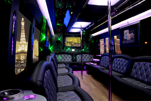 Party Bus Group Long Beach